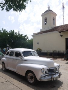 Trinidad, Cuba... C&C Cars and Catedrals...